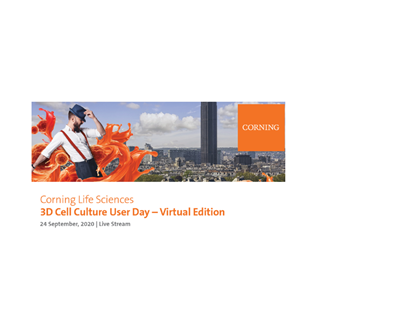 3D Cell Culture User Day – Virtual Edition